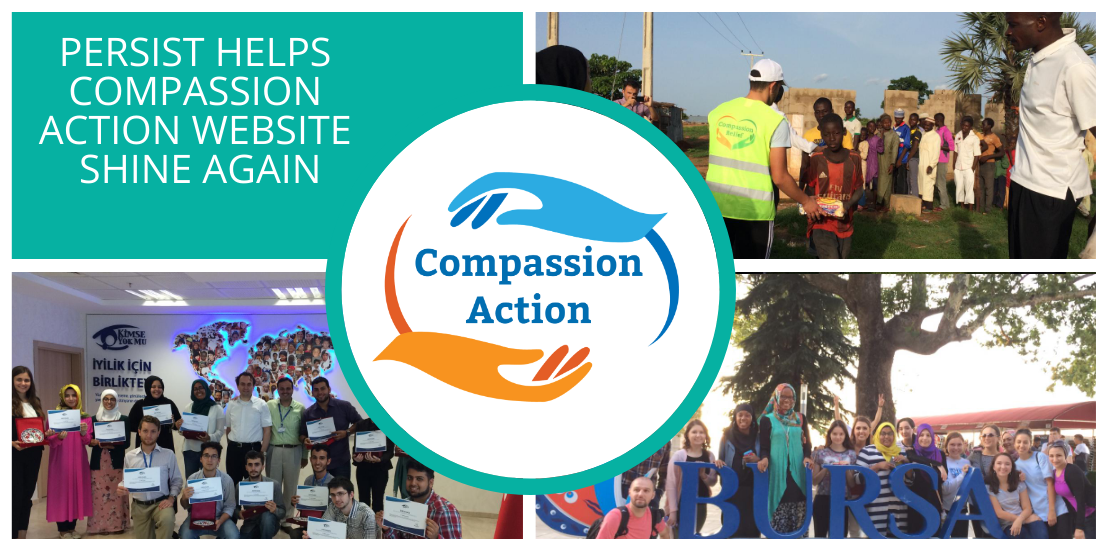 Compassion Action Gets a Free Website Upgrade from Persist Digital