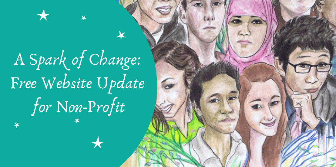 A Spark of Change: Free Website Update for Non-Profit