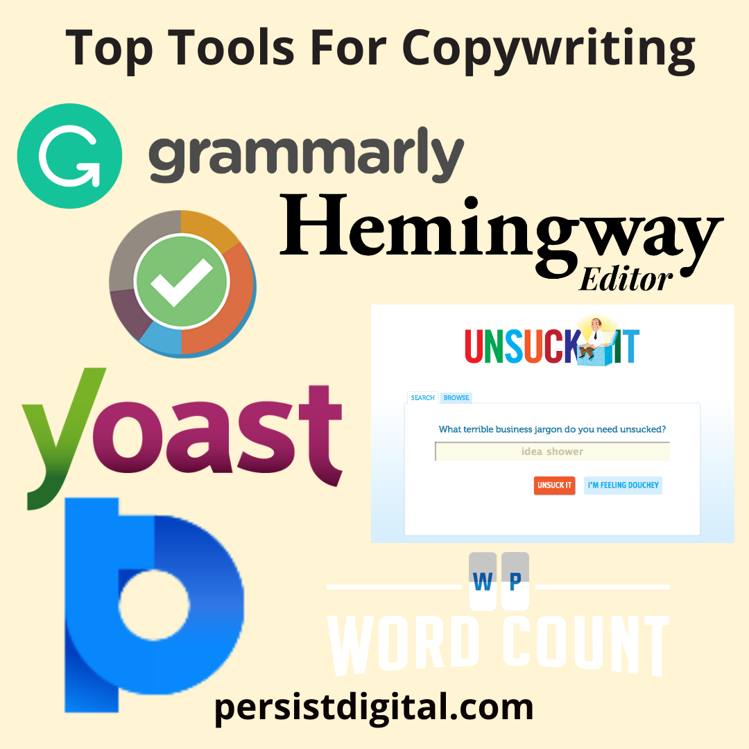 Top Tools For Copywriting