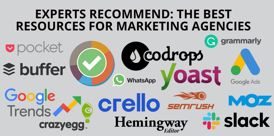 Experts Recommend: The Best Resources For Marketing Agencies