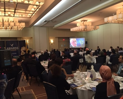 Peace Islands Institute's Annual Friendship Dinner and Awards Ceremony at the Hilton Hotel in Hasbrouck Heights