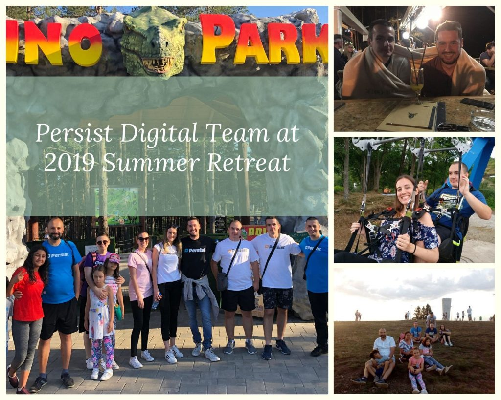Persist Digital Team at 2019 Summer Retreat
