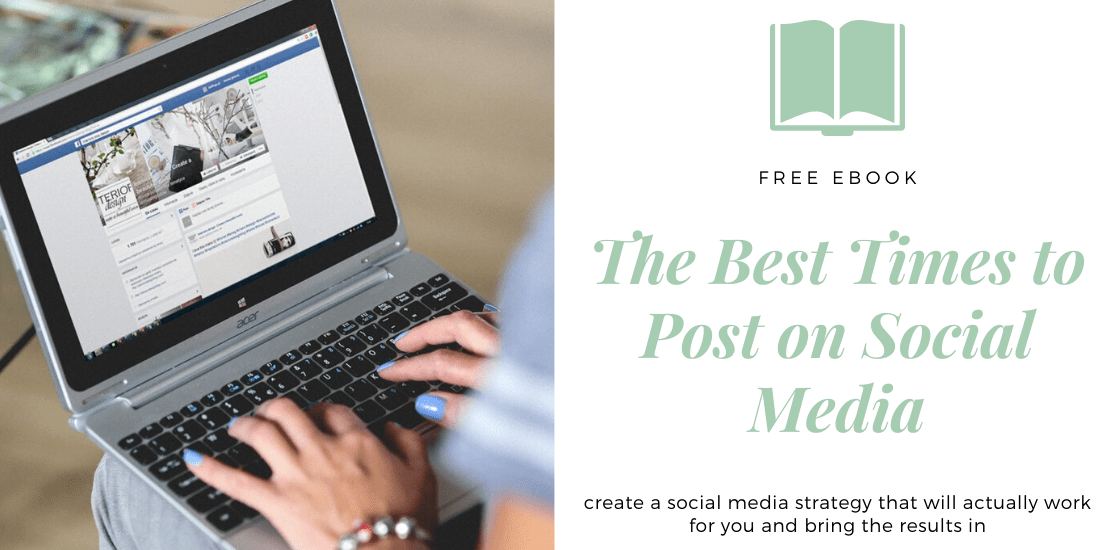 The best times to post on social media ebook